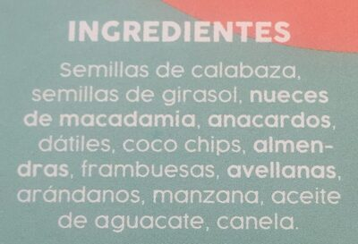 Sargent Berry - Ingredientes - es