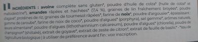 repas buvable - Ingredienti - fr
