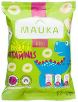 Rosquitas con Vitaminas Kids Mauka - Nutrition facts - en