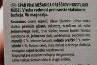 NUSS-MIX KNUSPER MUSLI - Ingredients - en