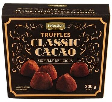 Selection Premium Chocolate Truffles - Recycling instructions and/or packaging information - en