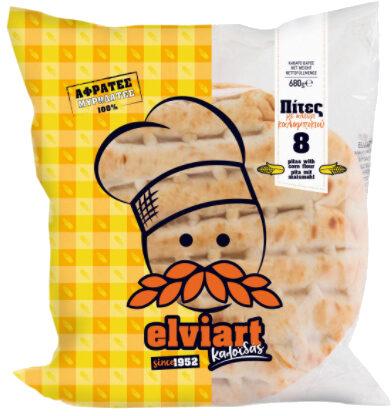 Πίτες με αλεύρι καλαμποκιού - Product - el