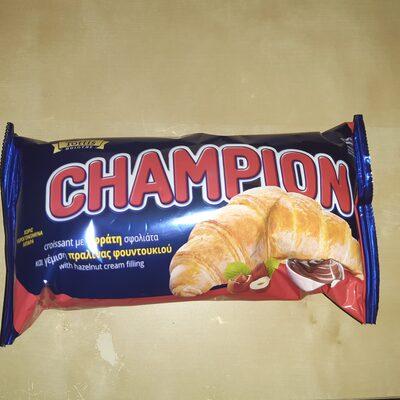 Champion Κρουασάν Πραλίνα Φουντουκιού 70gr - Product - el