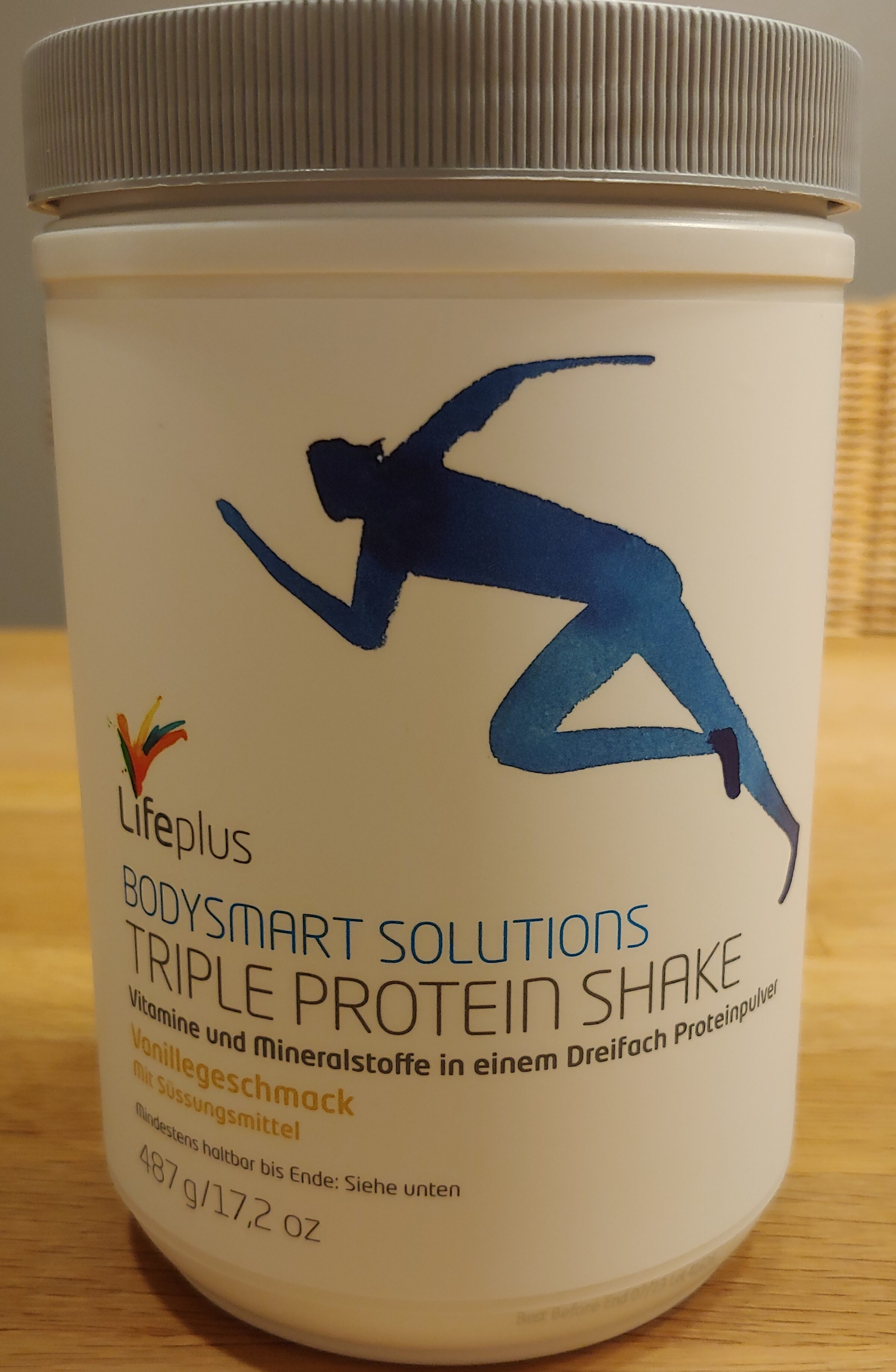 Triple Protein Shake Vanillegeschmack - Recycling instructions and/or packaging information - de
