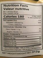 Huiji Fired Mini Dough Twist - Nutrition facts - en