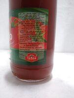 Tomato Ketchup - Ingredienti - en
