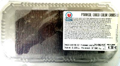 Pyramide choco coeur croustillant - Produit