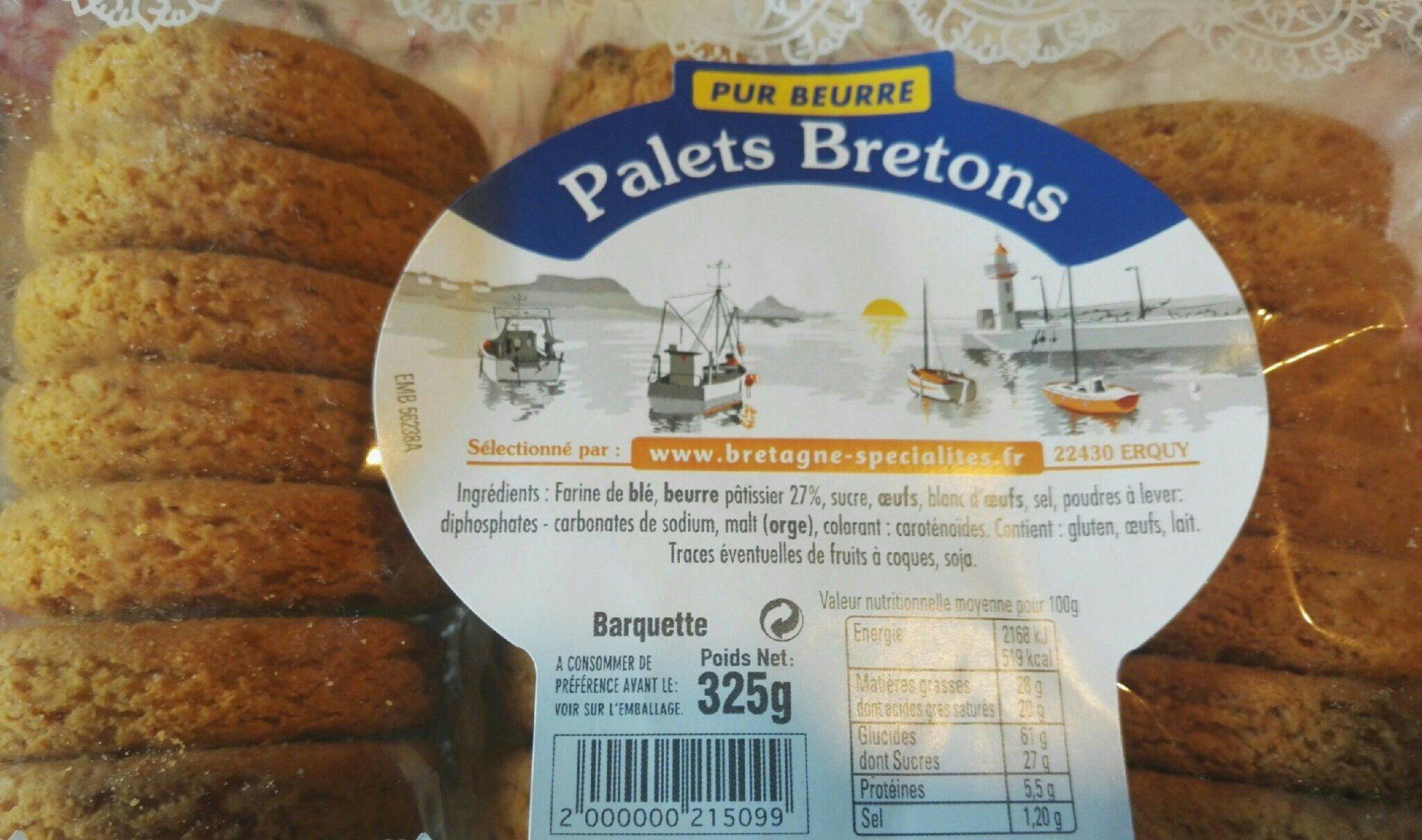 Palets Bretons - Product - fr