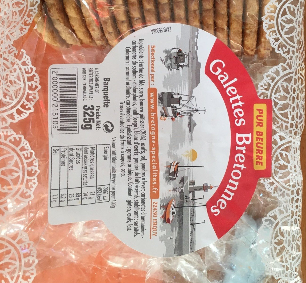 Galette bretonnes - Produit - fr
