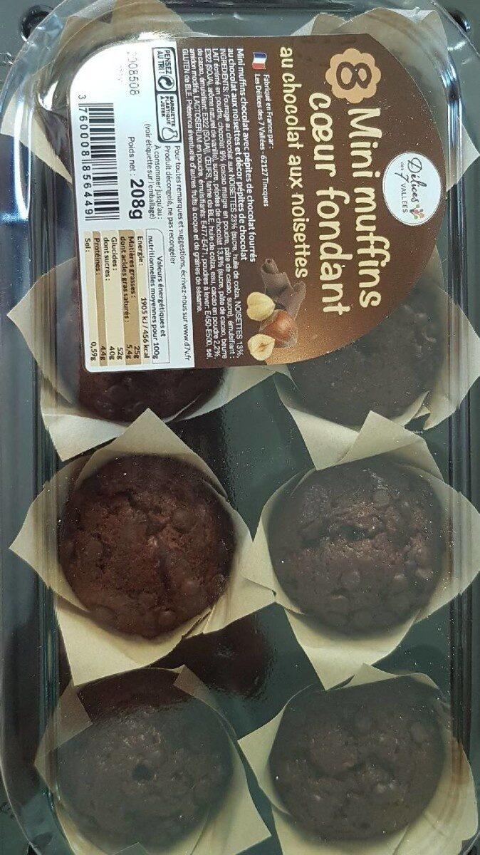 mini muffins coeur fondant - Informations nutritionnelles - fr