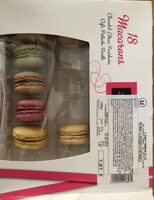 18 macarons - Product