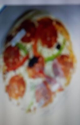 Pizza chorizo - Produit - fr