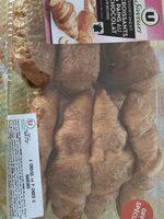 4 croissants + 4 paints choco - Produit