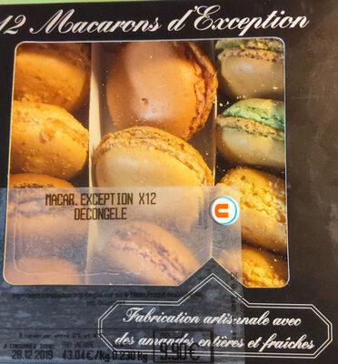12 macarons d'exception - Produit - fr