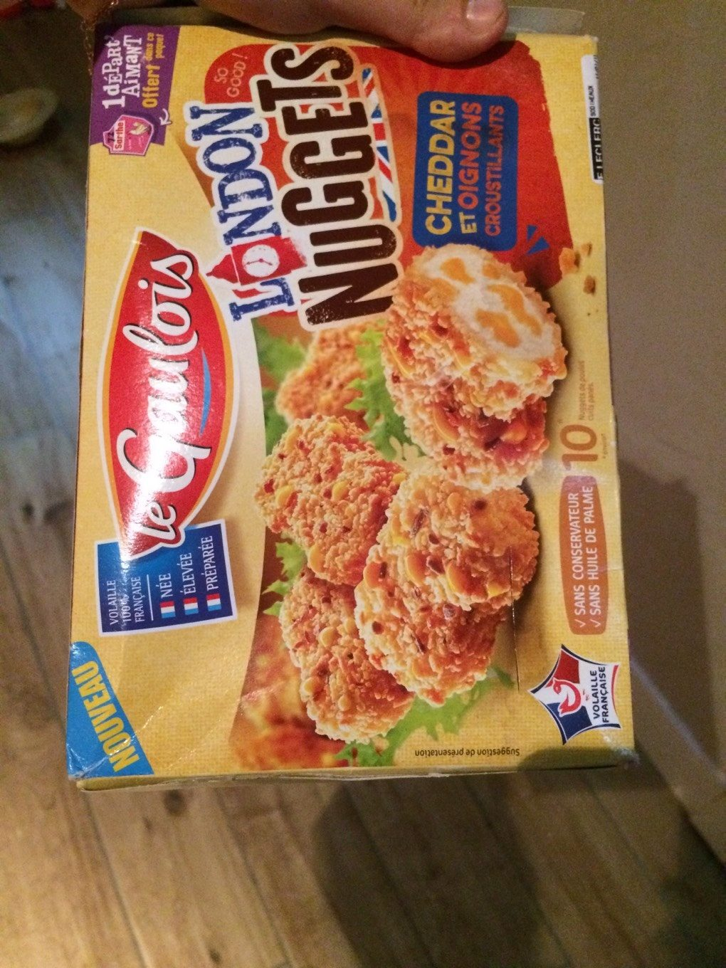 Nuggets chedar oignons - Product