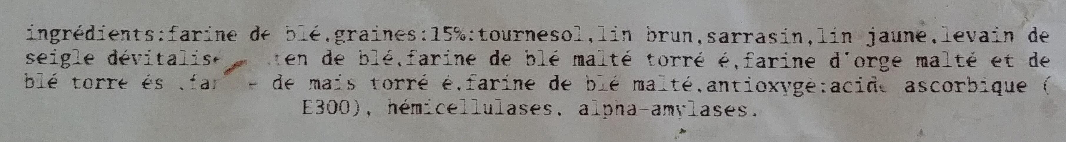 pain pavé de mael - Ingrédients - fr