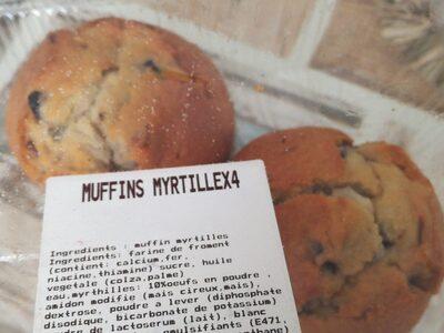 Muffins myrtille - Produit