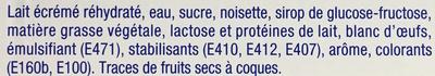 Suspens - Ingredients - fr