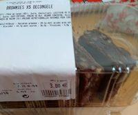 Brownies x5 décongelés - Produit - fr
