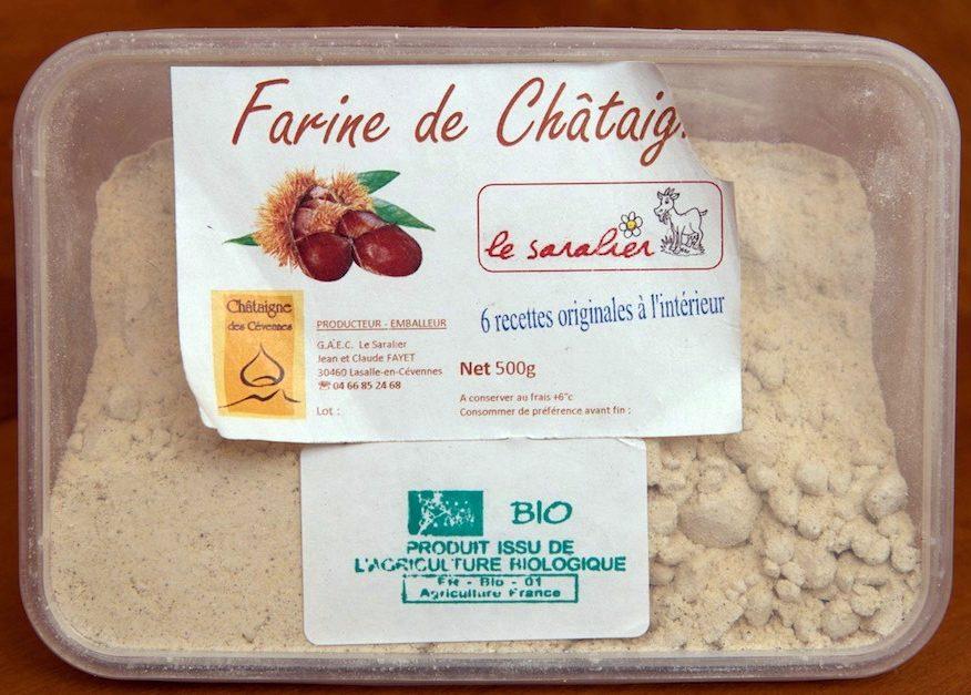 Farine de Châtaigne Bio - Produit