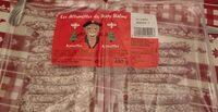 Les allumettes du papy Balme noisettes - Produit - fr