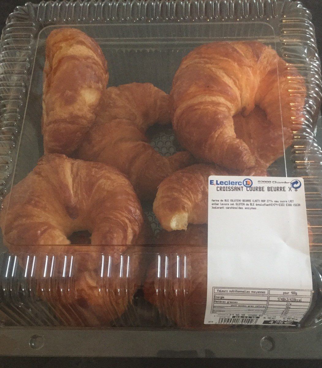 Croissant courbe beurre - Product
