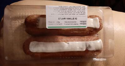 Éclair vanille x2 - Produit - fr