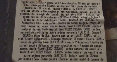 Eclair *6 - Ingredients