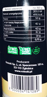 Majonez stołowy - Nutrition facts