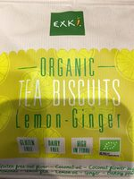 Biscuit citron gingembre - Product - fr