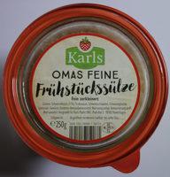 Omas feine Frühstückssülze, fein zerkleinert - Produkt