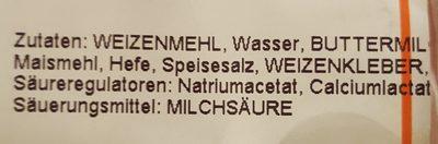 Kastenweißbrot - Ingredients
