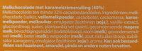 Karamel - Ingredients - nl