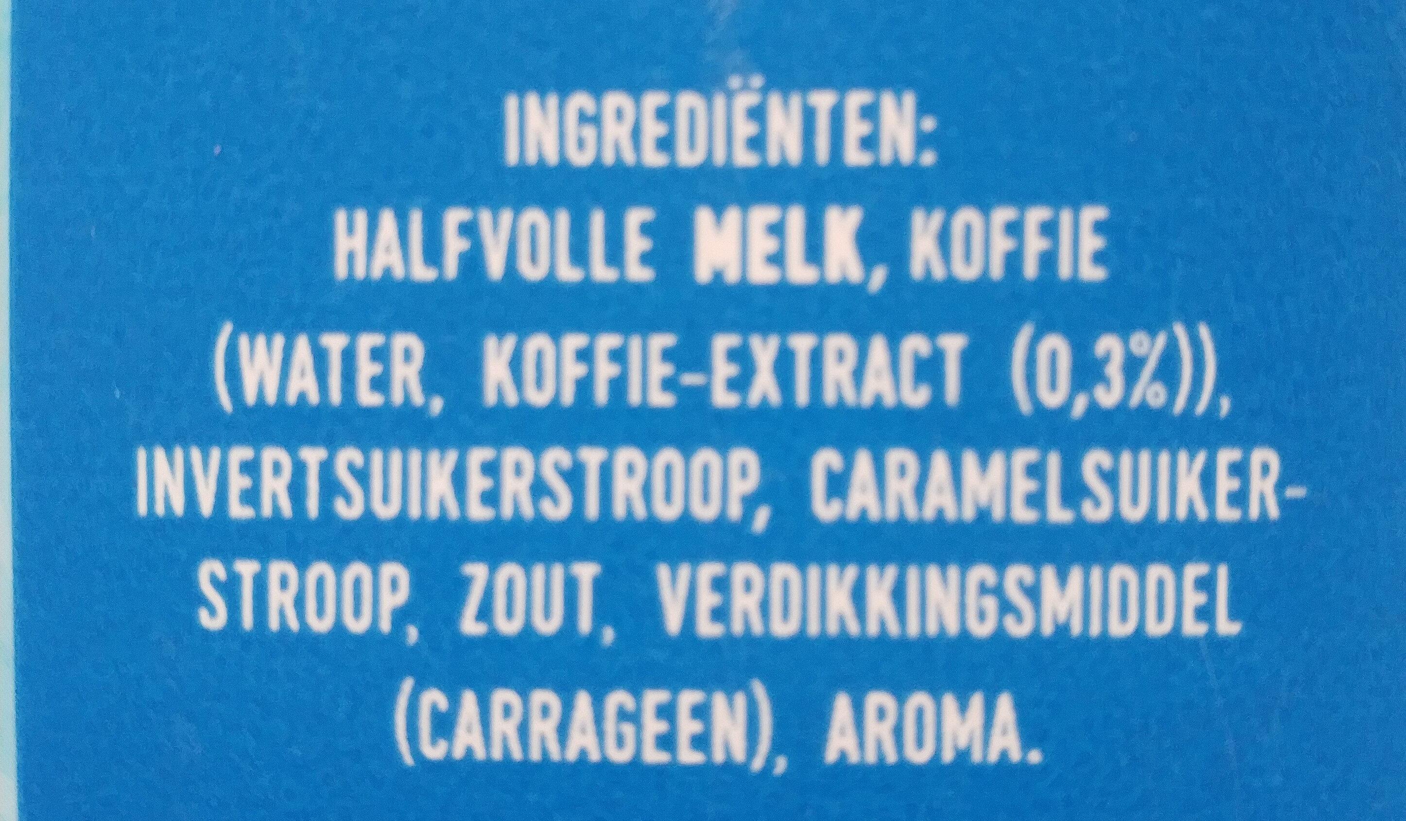 ijskoffie - Ingrediënten - nl