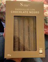 Barquillos con Chocolate Negro - Prodotto - es