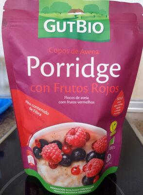 Porridge con Frutos Rojos - Producto