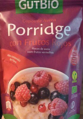 Porridge con frutos rojos - Product - es