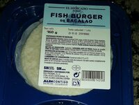 Fish burger de bacalao - Prodotto - es