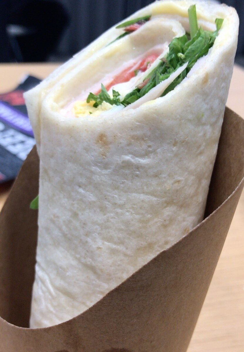 Sandwich wrap jambon de poulet - Prodotto - fr