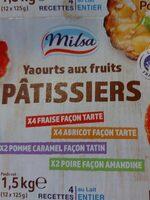 Yaourts pâtissiers - Produit - fr