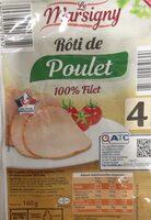 Roti de poulet 100% filet - Produit - fr
