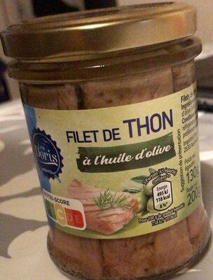 Filet de thon a l huile d olive - Prodotto - fr