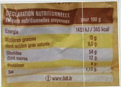 10 pains au lait Maître Jean-Pierre - Voedigswaarden