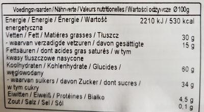 Croustille - Voedingswaarden - nl