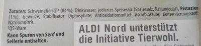 Schinkenwurst - Ingredients