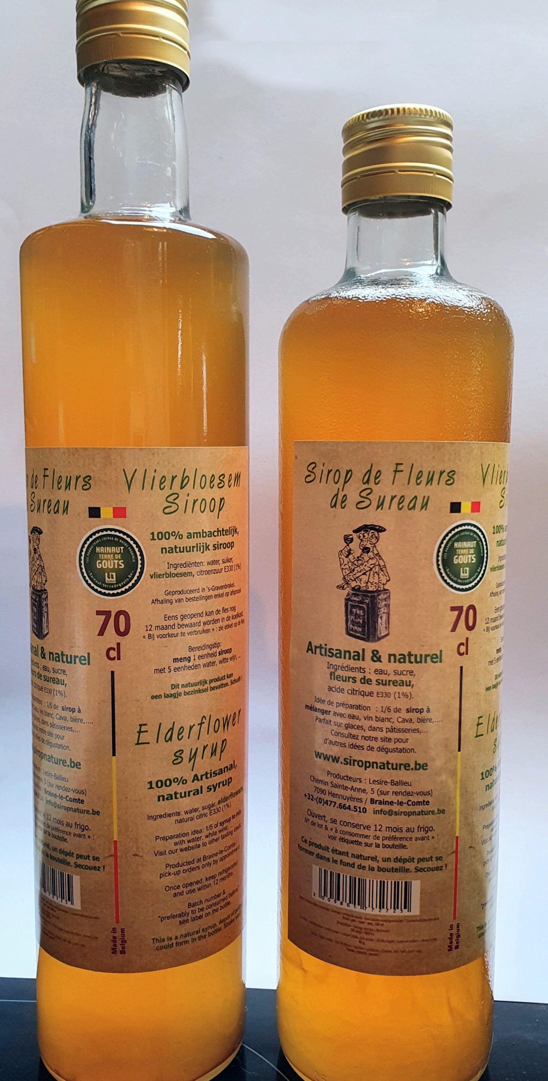 Sirop de fleurs de sureau - Product - fr