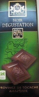 Cioccolato fondente - 60% cacao - Producte - fr
