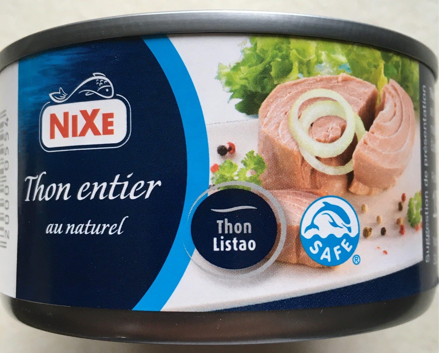 Filet de thon au naturel - Produit - fr