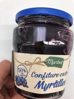 Confiture aux myrtilles - Product - fr
