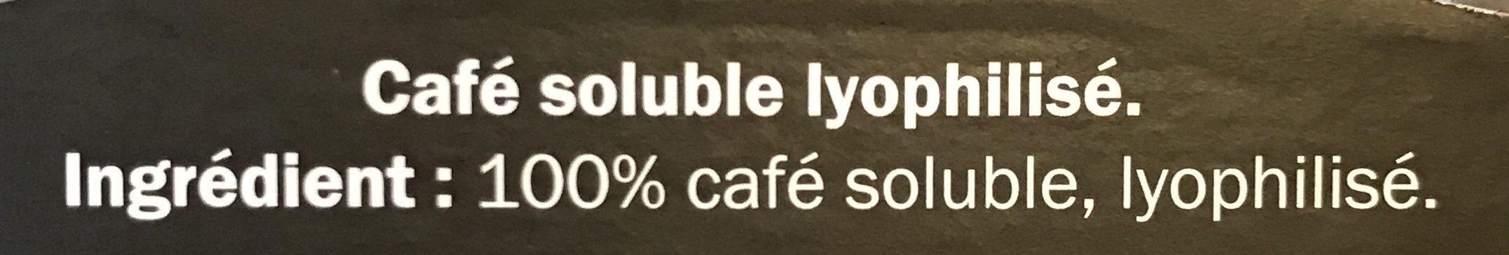 Café Lyophilisé - Ingrédients - fr